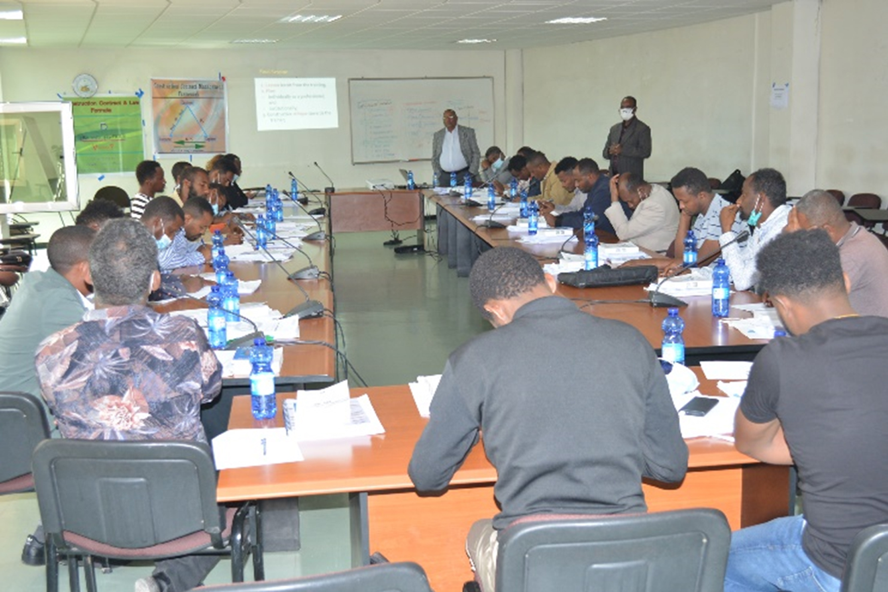 Provision of short-term training for its internal staffs in the countryside